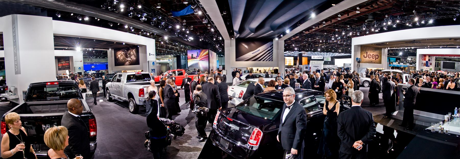 Auto Show Panorama