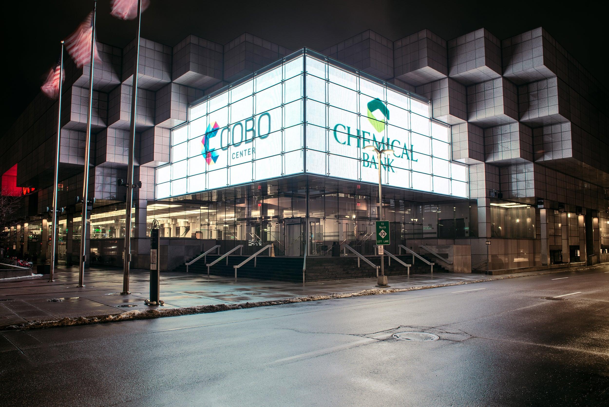 Cobo Center Rebrand Announcement