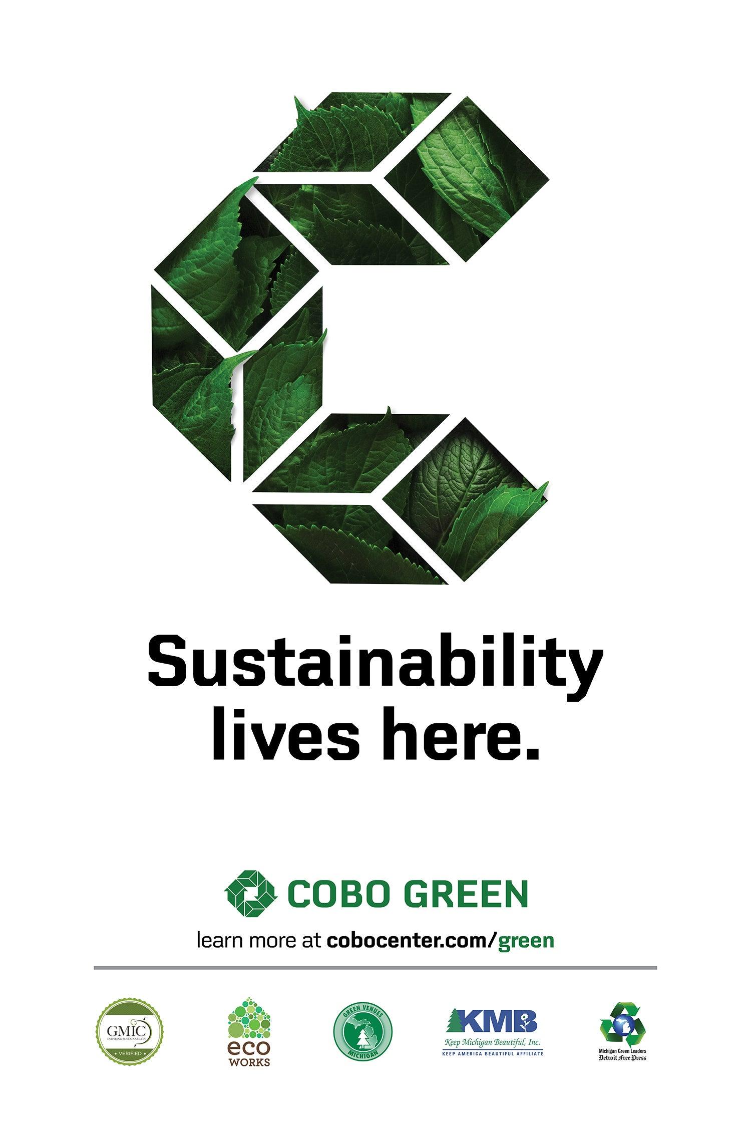 Green Initiatives   Cobo Center - Detroit Michigan