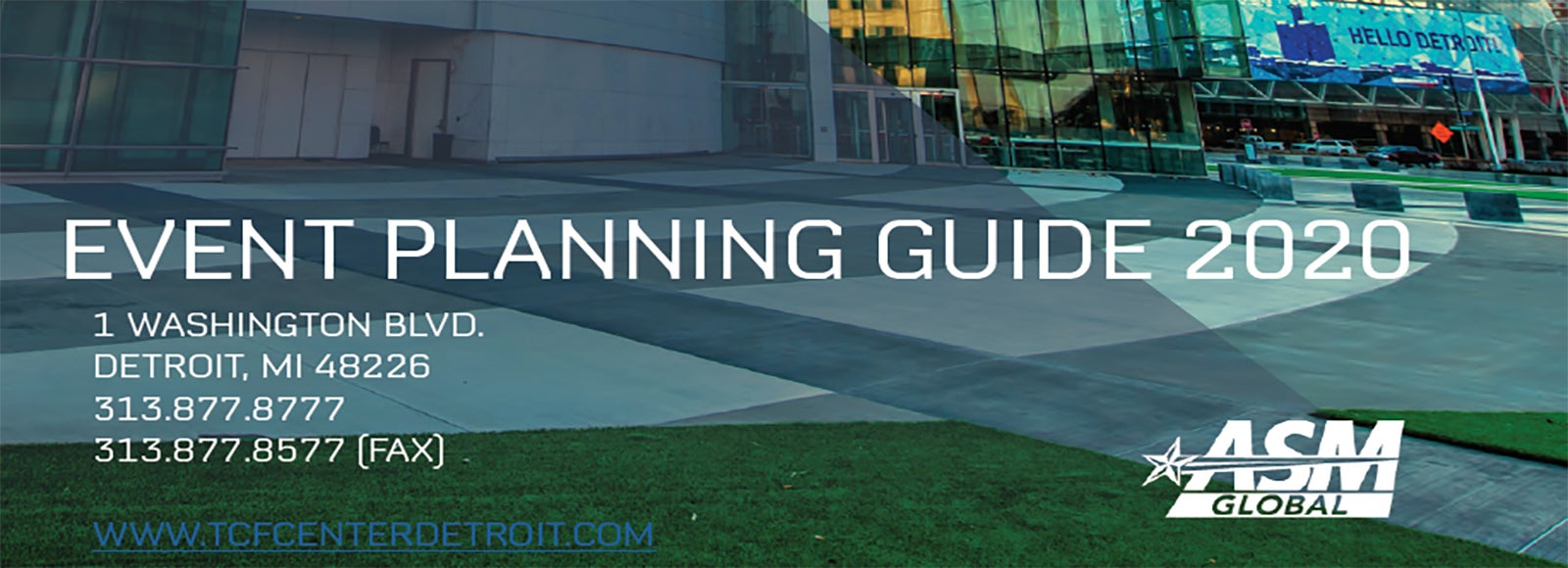 More Info for TCF Center's 2020 Event Planning Guide Arrives